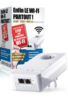 Réseau par courant porteur DLAN 1200+ WIFI CPL Devolo