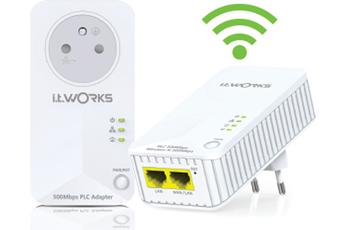 Réseau par courant porteur KIT CPL WIFI 500 MBPS It Works
