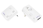 Netgear XWNB5602 Pack de 2 adaptateurs CPL 500 Mbits dont 1 CPL avec Wifi Intégré