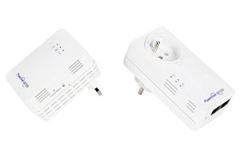 Réseau par courant porteur XWNB5602 Pack de 2 adaptateurs CPL 500 Mbits dont 1 CPL avec Wifi Intégré Netgear