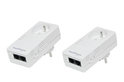 Netgear XAVB5602 Powerline 500 Nano PassThru 2-port