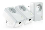 Tp-link TL-PA4015PTKIT Adaptateur CPL AV500 avec prise intégrée
