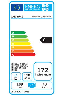 Samsung PS43E490/3D