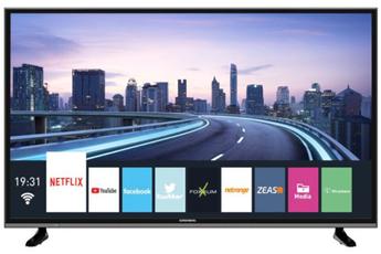 Ecran de 124 cm - 4K UHD Technologie 50 Hz - Rétro éclairage LED Direct 3 HDMI, 2 USB 2.0 Smart TV, Navigateur internet, Wifi intégré