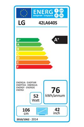 Lg 42LA640S SMART 3D