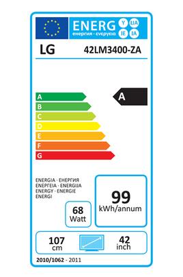 Lg 42LM3400 LED 3D