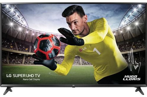"""Ecran de 139 cm (55"""") - 100% 4K UHD Smart TV, WebOS 3.5, Wifi intégré, DLNA, Miracast 3 HDMI, 2 USB avec fonction PVR, Port CI+ Technologie 50 Hz (PQI 1600 Hz)"""