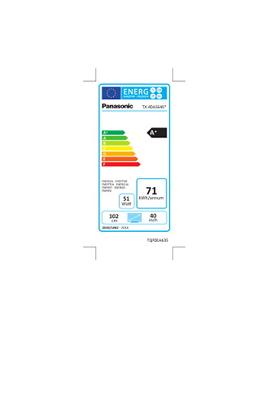 Panasonic TX-40AS640E SMART 3D
