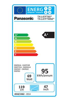 Panasonic TX-L47FT60E LED 3D