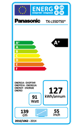 Panasonic TX-L55DT50 LED 3D