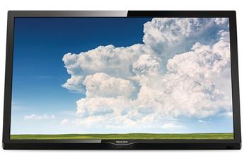 """Ecran de 60 cm (24"""") - HDTV Technologie 50 Hz - Rétro éclairage LED Edge 2 HDMI, 1 Port USB, 1 entrée PC VGA, 1 DVI, Port CI+, prise péritel"""