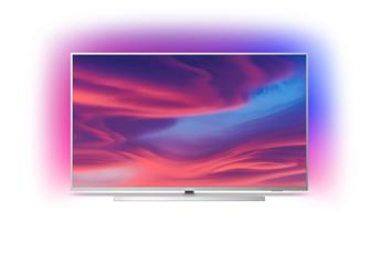 """Ecran de 146 cm (58"""") - 4K UHD - HDR 10+ Technologie LED - Ambilight 3 côtés Android TV, Google Assistant intégré, Chromecast intégrée & Bluetooth Pieds central en métal pivotant - Processeur P5 Quad Core - HDR10+ - Dolby Vision - Dolby Atmos"""