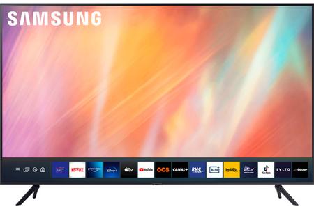 TV LED Samsung UE43AU7105 SMART TV 2021 - UE43AU7105 | Darty