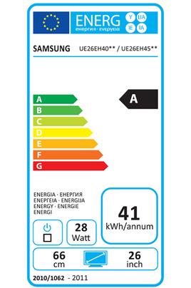 Samsung UE26EH4510 LED BLANC