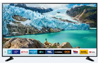 Ecran de 109 cm - 100% UHD/4K Technologie 50Hz (PQI 1400) Smart TV, Navigateur internet, Wifi intégré 3 HDMI - 2 USB - Bluetooth intégré