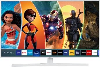 """Ecran 108 cm (43"""") - 4K UHD - 1900 PQI Rétro éclairage LED - UHD Dimming Smart TV, Navigateur internet, Wifi intégré, Wifi Direct, Quad Core 3 HDMI, 2 USB, Port CI+"""