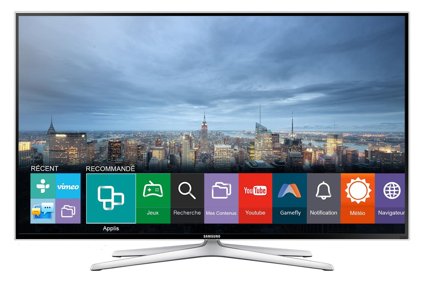 tv led samsung ue48h6400 smart 3d 48h6400 4012003 darty. Black Bedroom Furniture Sets. Home Design Ideas