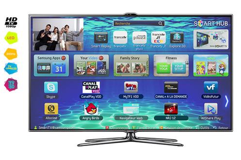 TV LED Samsung UE55ES7000 LED 3D
