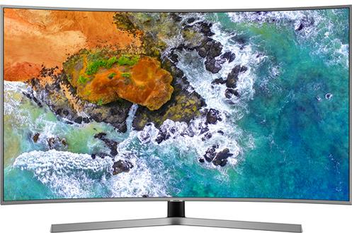 """Ecran 65"""" (163cm) - 100% 4K UHD - Incurvé Technologie 100 Hz (PQI 1900 Hz) - Rétro éclairage UHD Dimming Smart TV, Navigateur internet, Wifi intégré, Wifi Direct, Processeur Quad Core, DLNA Accès Canal intégré"""