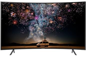 """Ecran de 163 cm (65"""") - 100% 4K UHD - incurvé - Courbure 4200 R Rétro éclairage LED UHD Dimming Smart TV, Navigateur internet, Wifi intégré, Wifi Direct, Quad Core 3 HDMI - 2 USB - Port CI+"""