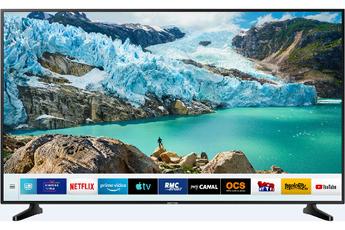 """Ecran LED de 189 cm (75"""") - 100% 4K UHD Smart TV, Navigateur internet, Wifi intégré - Processuer UHD Engine HDR 10+ - Dolby Digital Plus 3 HDMI, 2 USB, Port CI +"""