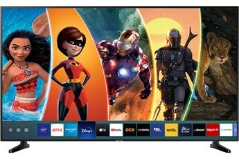 """Ecran LED de 189 cm (75"""") - 100% 4K UHD Smart TV, Navigateur internet, Wifi intégré - Processuer UHD Engine HDR 10+ - Dolby Digital Plus - 3 HDMI, 2 USB, Port CI + Accès aux applications Disney+, Netflix, Youtube"""