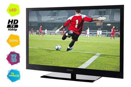 TV LED Sony BRAVIA KDL37EX720 LED 3D - BRAVIA KDL37EX720 | Darty