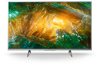 """Ecran de 108 cm (43"""") - 100% 4K UHD - Rétro éclairage LED Edge Frame Dimming Smart Android TV, Wifi intégré, Wifi Direct, Processeur X1 Système audio Dolby Digital Plus - Dolby Atmos 4 HDMI, 2 USB, Port CI+"""