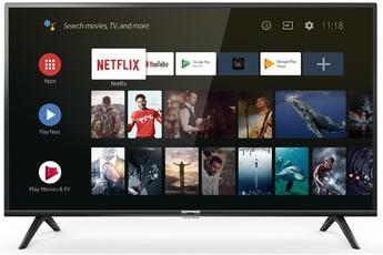 """Ecran 100 cm (40"""") - HDTV 1080p Rétro éclairage Direct LED Androit TV 8.0 avec Google Assistance - Wifi intégré - 2 x 8 Watts 2 HDMI, 1 Port USB, Port CI+"""