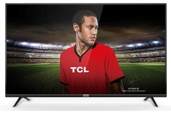 Ecran de 109 cm - 100% 4K UHD Technologie 50 HZ (PPI 1600 HZ) - Rétro-éclairage LED Edge SMART TV+, Wifi intégré, 4K HDR 2 HDMI, 2 USB et 1 Port CI+