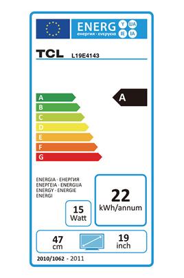 Tcl L19E4143 LED VERT