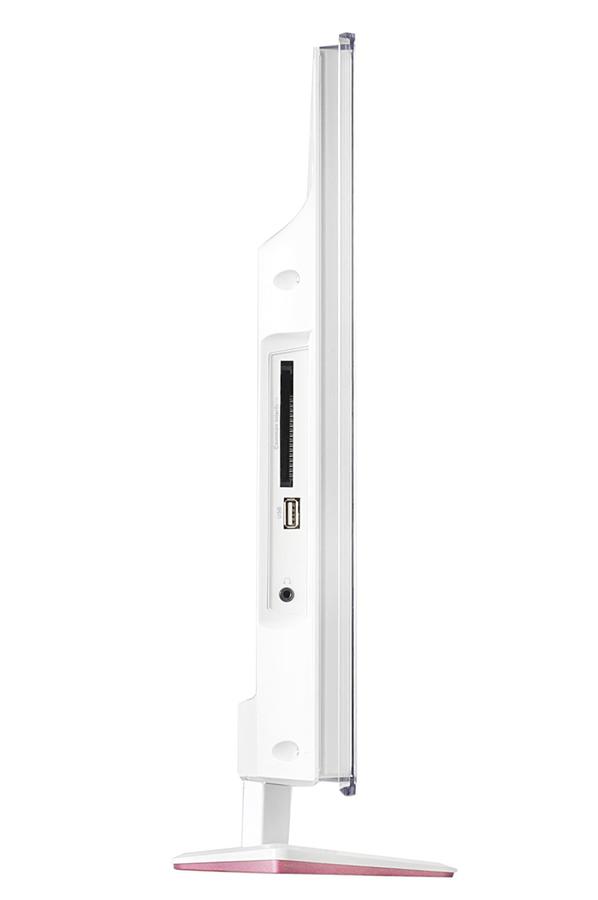 tv led tcl l24e4153f led rose l24e4153f 3747905 darty. Black Bedroom Furniture Sets. Home Design Ideas
