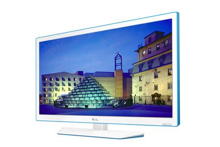 tv led tcl l24e4233f led blanc bleu l24e4233f led darty. Black Bedroom Furniture Sets. Home Design Ideas