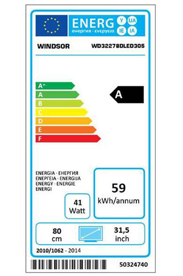 tv led windsor wd32278dled 4154126 darty. Black Bedroom Furniture Sets. Home Design Ideas