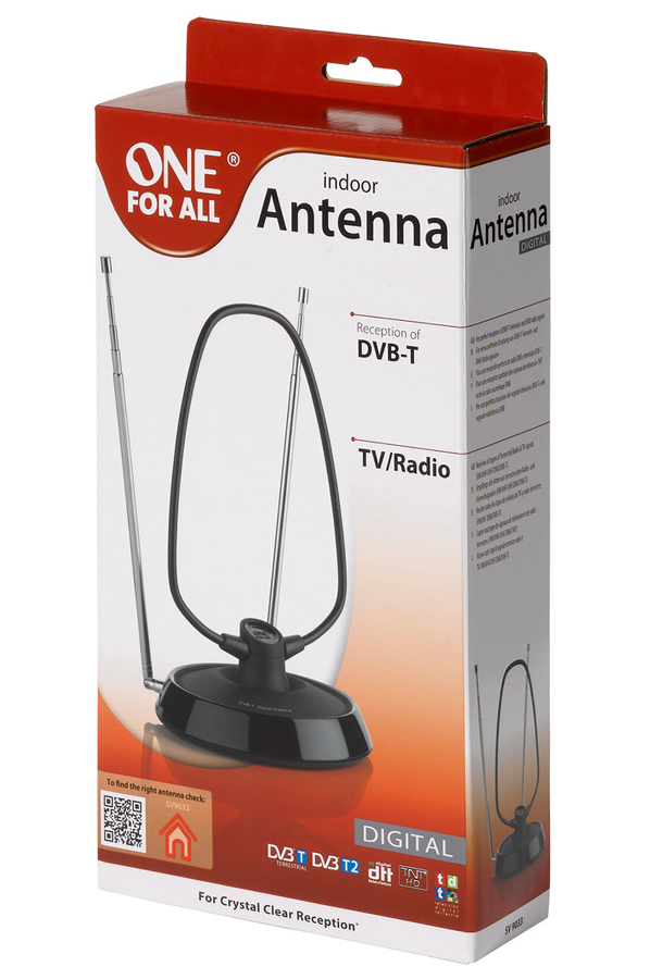 Antenne tv tnt one for all sv 9033 sv9033 1273442 for Antenne tnt exterieur brico depot