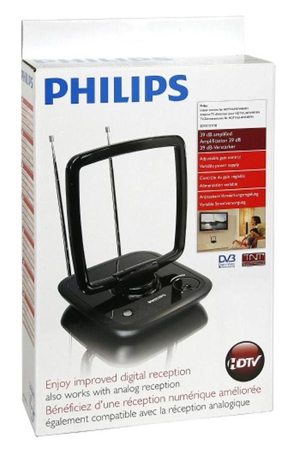 antenne tv tnt philips sdv 5121 10 sdv5121 10 1211749. Black Bedroom Furniture Sets. Home Design Ideas