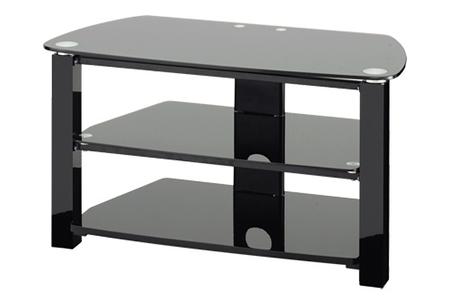 meuble tv proline ts32bk darty. Black Bedroom Furniture Sets. Home Design Ideas