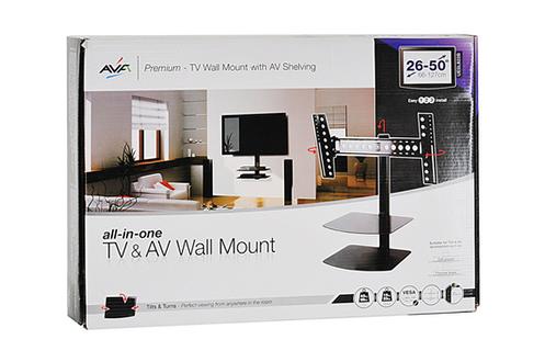 support mural pour cran plat avf unesl822pb 1263684. Black Bedroom Furniture Sets. Home Design Ideas