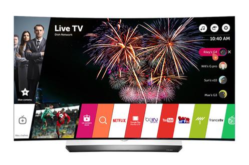TV OLED 55C6V C OLED 4K Lg