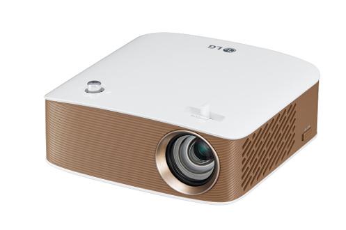 Technologie DLP Résolution 1280x720p - Luminosité 130 lumen - Contraste 100 000:1 Technologies Miracast et Bluetooth audio 1 HDMI-MHL, 1 port USB, 1 sortie audio 3.5 mm