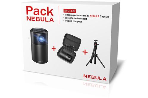 Vidéoprojecteur CAPSULE + PACK ACCES Nebula