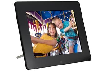 Ecran LED de 20,3 cm Résolution 800x600 pixels Mémoire interne 4 Go Rotation, orientation et redimensionnement automatiques
