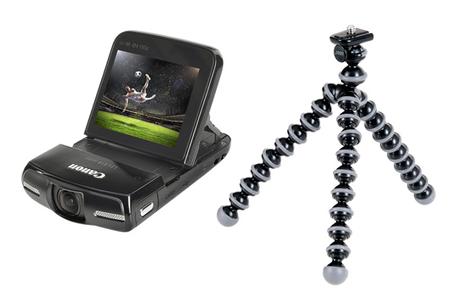 cam scope num rique canon legria mini gorillapod kit legria mini gorillapod kit darty. Black Bedroom Furniture Sets. Home Design Ideas