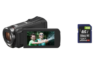 Caméscope numérique Everio GZ-R315B + carte SD 8 GO Jvc