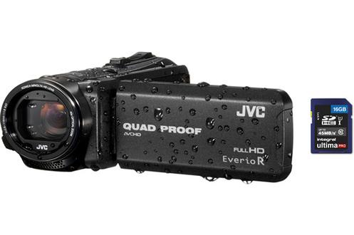 Caméscope numérique GZ-R415B + CARTE SD 16 GO Jvc