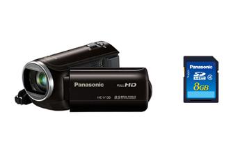 Caméscope numérique HC-V130K + CARTE SD 8GO Panasonic