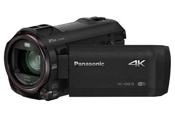 Caméscope numérique HC-VX870EF-K 4K Panasonic