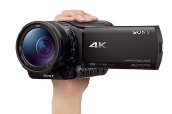 Caméscope numérique FDR-AX100 4K Sony