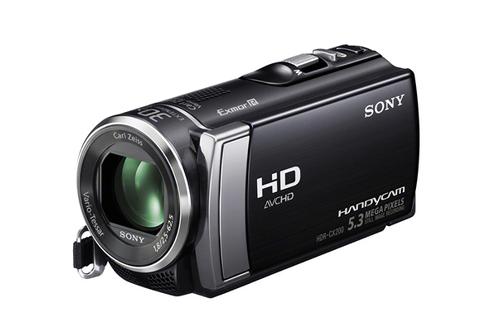 Caméscope Haute Définition SONY HDR CX200 NOIR