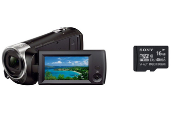 Caméscope numérique HDR-CX405 + CARTE MICRO SD 16GO Sony